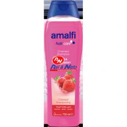 Champô Amalfi 750 ml Morango (Fresa)
