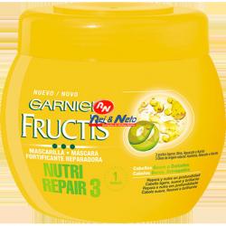 Mascara Capilar Fructis 400ML Nutritiva Reparadora Tripla Ação