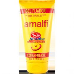 Gel Cabelo Amalfi 150 ml Fixação Extra Forte Efeito Molhado