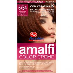Tinta para Cabelo Amalfi 36 Vermelho Escuro Refª 6/54