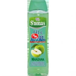 Gel de Banho e Champô S'nonas 750 ml Maçã