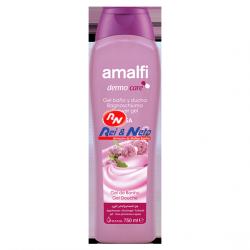 Gel Banho Amalfi 750 ml Suave Rosa
