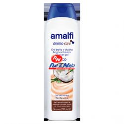 Gel Banho Amalfi 750 ml Leite de Coco