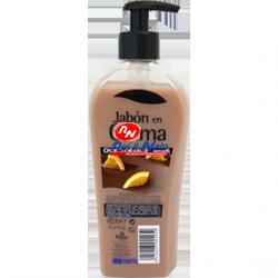 Sabonete Creme Amalfi 400 ml Chocolate/Laranja c/ doseador