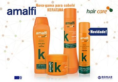 Linha mais completa para cabelo da Amalfi.