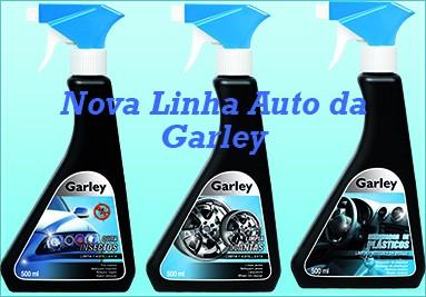 Nova Linha para auto da Quimiromar da marca Garley